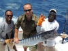 Greg with Crew Kimo & Curvin and a King Fish