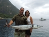 Greg & Amanda with their catch